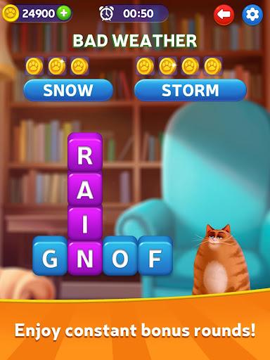 Kitty Scramble: Word Stacks screenshots 19
