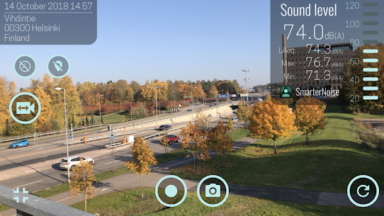 SmarterNoise – video sound meter recorder camera App Download For Android 4