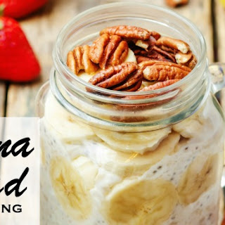 Banana Nut Bread Chia Pudding.