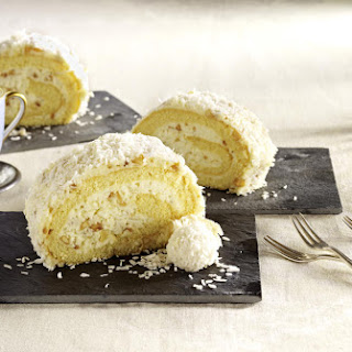 Coconut Cream Roll