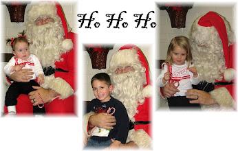 Photo: Visits with Santa
