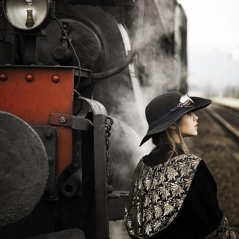 Steampunk girl di Sebastiano Pieri