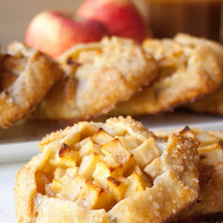 Caramel Apple Crostatas