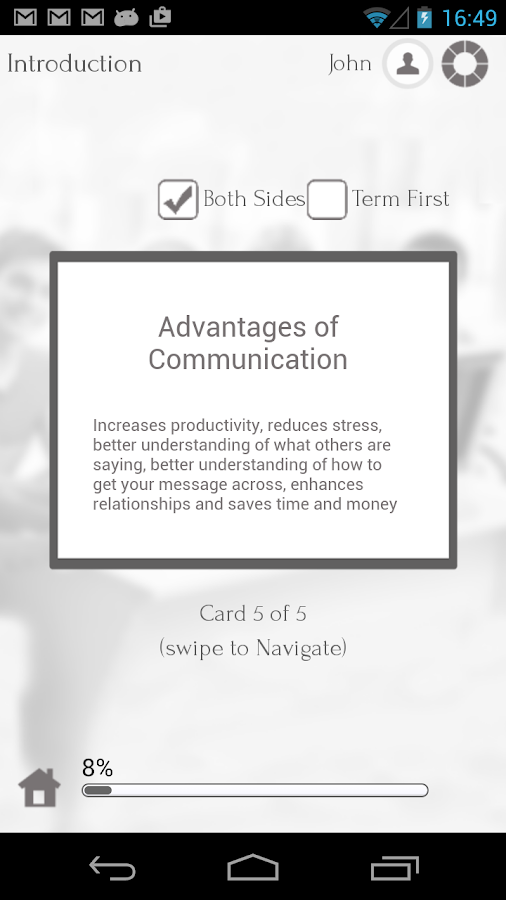 Learn Communication Skills - screenshot