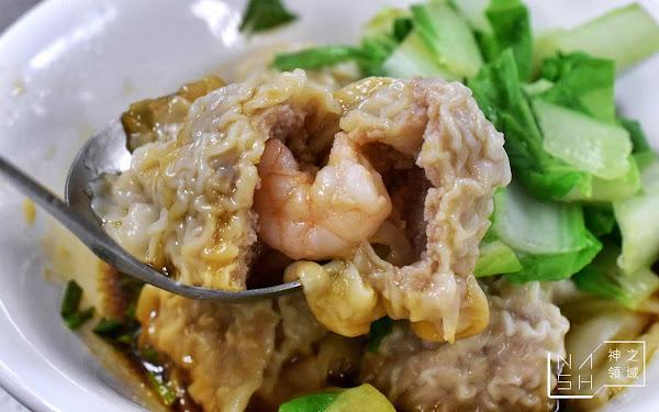 天母美食推薦|岳家小館 士東市場必吃 夭壽好吃的超大餛飩