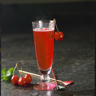 Cherry Rum Cocktail.