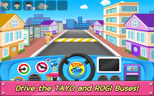 Tayo Bus Game - Job, Bus Driver 1.2.3 gameplay | AndroidFC 1