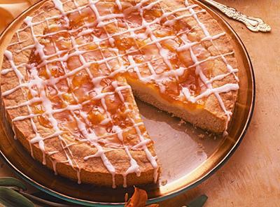 Apricot Cream Coffee Cake Recipe