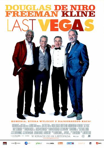 Przód ulotki filmu 'Last Vegas'