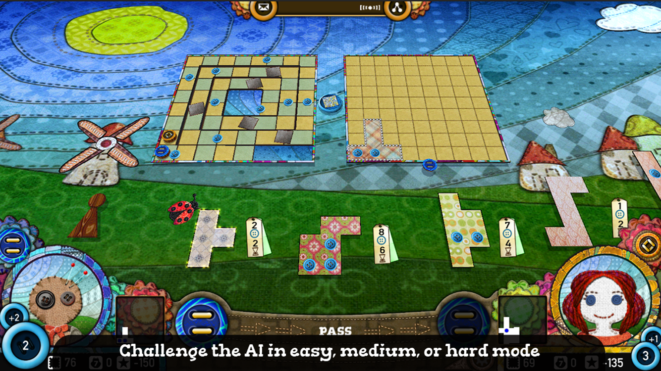 Patchwork The Game- screenshot