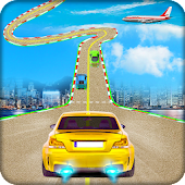 Impossible Car Racing 3d - Stunt Car Games Icon
