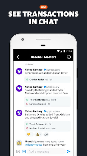 Yahoo Fantasy Sports screenshot 3