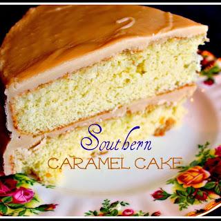 Southern Caramel Cake!