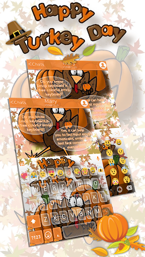 Thanksgiving Day Emoji Theme