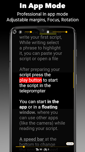 Nano Teleprompter 4.6.4 screenshots 4