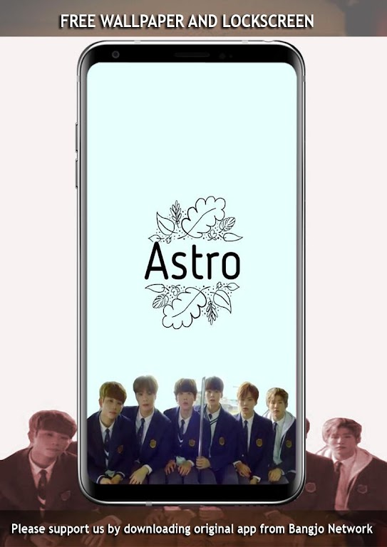 Unduh Astro Wallpapers Kpop By Bangjo Network Apk Versi
