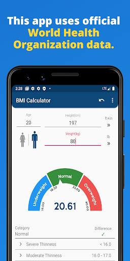 BMI Calculator 1.1.2 screenshots 2