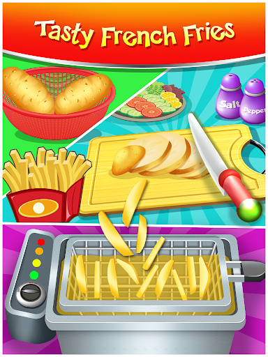Happy Kids Meal Maker - Burger Cooking Game 1.2.6 Screenshots 3
