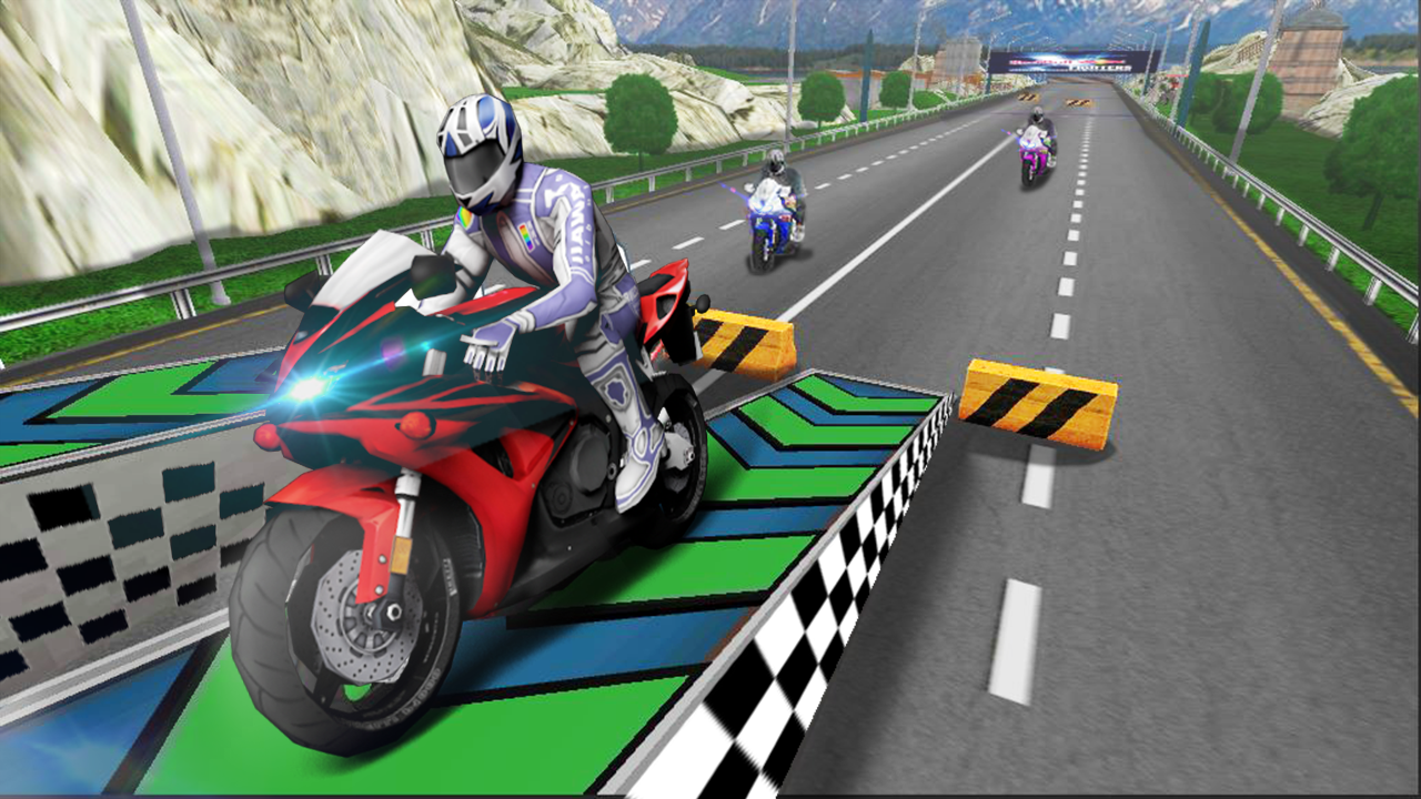Extreme Super Bike Racing 3D Game- screenshot