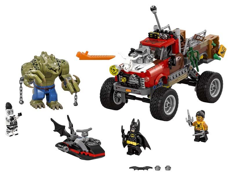 Contenido de Lego® 70907 Reptil Todoterreno de Killer Croc™