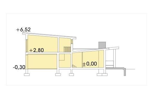 Mango 2 wersja A - Przekrój