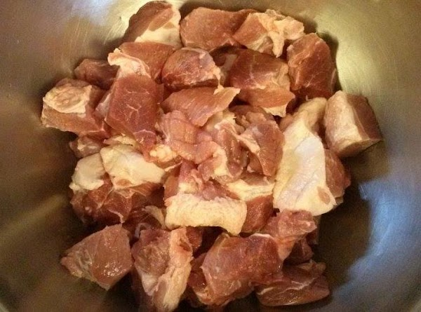 The pork should be coarse ground. I grind my own. If you don't have...
