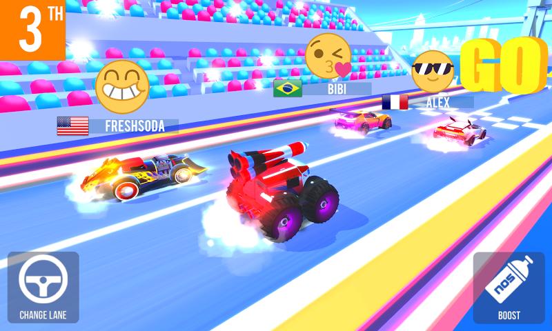 SUP Multiplayer Racing Screenshot 5