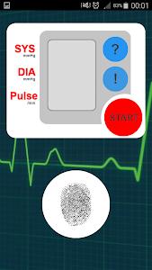 Finger Blood Pressure Prank screenshot 0