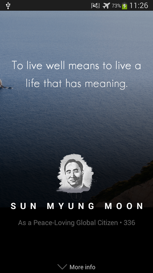 Sun Myung Moon Quotes- screenshot