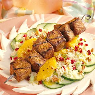 Caribbean Pork and Couscous Salad.