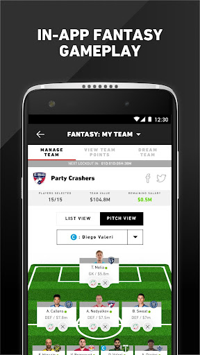 MLS: Live Soccer Scores & News 18.66.2 screenshots 6