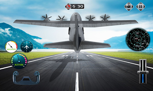 Cargo Plane Flight School: Car Transport Game 2018 1.1 screenshots 3