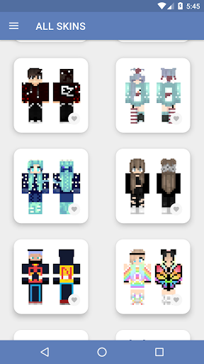 Skins for Minecraft PE (NEW SKINS) 5.0.5 screenshots 3