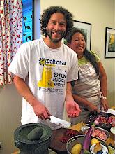 Photo: Jon & Karen prepping 1