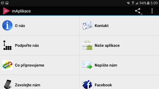 Download mAplikace For PC Windows and Mac apk screenshot 3