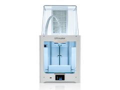 Ultimaker 2+ Connect Single Extrusion 3D Printer - Air Manager Bundle - with Enhanced Service Plan (2 Years of Warranty Protection)