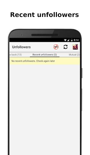 Unfollowers for Instagram screenshot