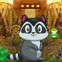 Cute Raccoon Escape Best Escape Game-335 icon