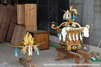 Photo: 【平成20年(2008) 宵々宮】  大人神輿の鳳凰と小人神輿。