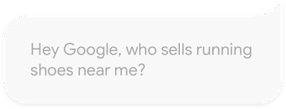 hey google!, user asking assistant