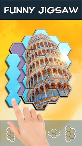 Jigsaw Hexa Block screenshot 3