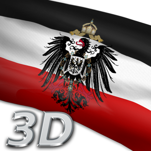 German Imperial Flag 3D