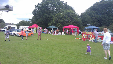 Photo: Various other stalls with games and local arts and crafts were of interest to all