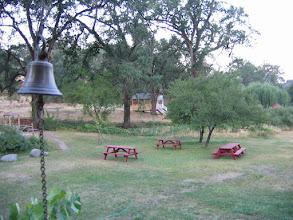 Photo: Yoga Farm, CA - dinner bell