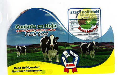 Label, Cuajada Queso Casero Hecho A Mano, Fresh Curd
