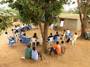 Photo: Community meeting