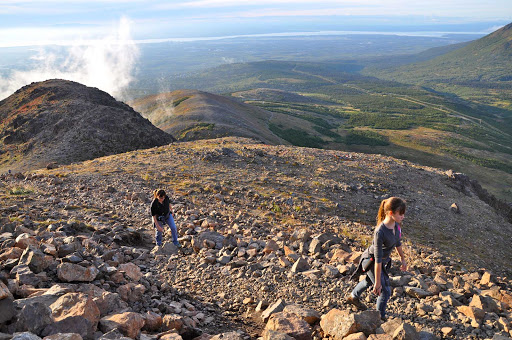 Hiking Flattop Mountain -  Roy Neese.Visit Anchorage.jpg - Just 20 minutes from downtown Anchorage, Flattop Mountain is the most-hiked peak in Alaska.