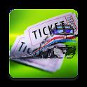 Railway Ticket Wallet icon