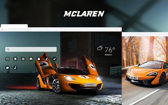 McLaren - Sports Cars HD Theme Wallpapers
