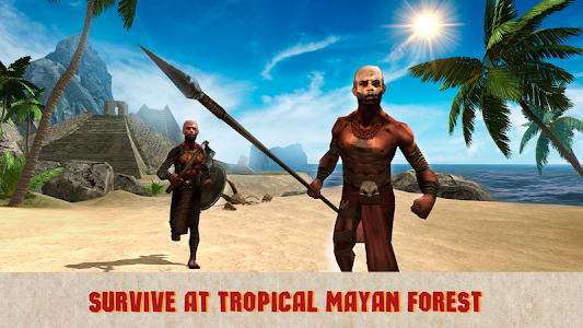 Aztec Island Survival Sim Full screenshot 0